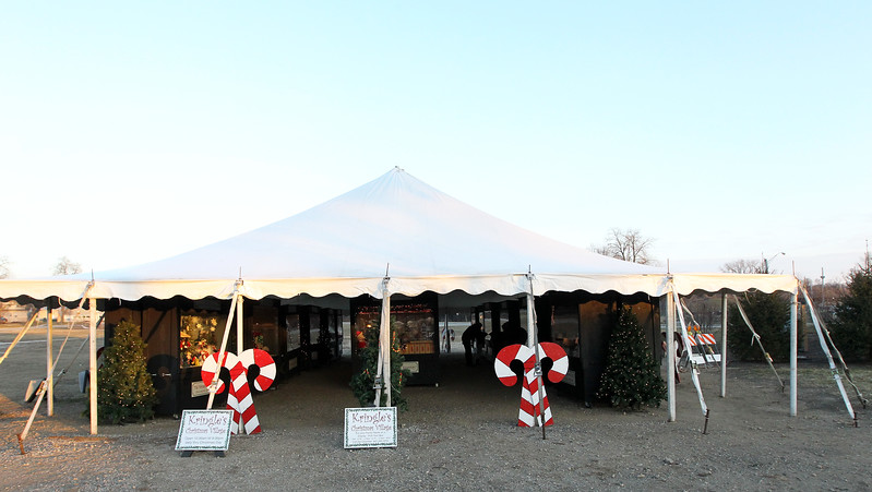 Candace H. Johnson-For Shaw Media The Kringle's Christmas Village was on display in downtown Antioch. (12/23/17)