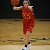 Batavia's Morgan Haug makes a pass against Streamwood on Dec. 7 in Streamwood.