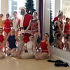 Dancers pose for a picture with Santa during a Batavia MainStreet event at Underground Allegro Dance Center in Batavia on Dec. 16.