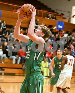 York's Sam Walsh scores in the third quarter during the game against West Aurora Dec. 9 at West Aurora High School. David Toney - For Shaw Media