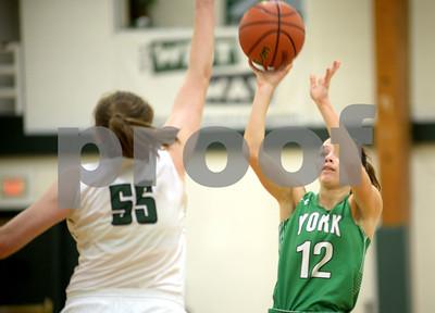 York girls basketball