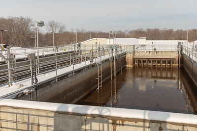 A sequential batch reactor (SBR), uses oxygen in order to reduce organic material in wastewater at the Marengo Waste Plant Friday, November 30, 2018 in Marengo. KKoontz – For Shaw Media