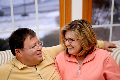 Sarah Nader - snader@shawmedia.com Alan Rosen (left) and his wife, Kim, of West Dundee have a 17 year age gap and have been together for the past 18 years.