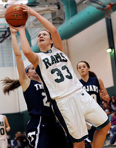 Sarah Nader - snader@shawmedia.com Grayslake Central's Skyler Jessop takes a shot during the third quarter of Thursday's crossover game between the FVC Valley champion and the FVC Fox champion on February 9, 2012 in Grayslake. Cary-Grove won, 58-54.