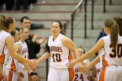 Daniel J. Murphy - dmurphy@shawmedia.com  McHenry forward Michelle Kelly #40 is announced as a starter  Wednesday February 15, 2012 at Prairie Ridge High School in Crystal Lake. Prairie Ridge defeated McHenry 38-34.