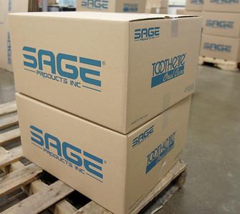 H. Rick Bamman - hbamman@shawmedia.com Sage Products ready for shipment
