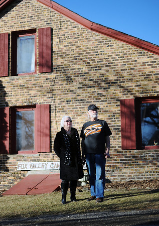 Sarah Nader - snader@shawmedia.com Marge Ruhnke (left) and her husband, Tom, of Crystal Lake fought for a lower property tax assessment  for over 10 years and was finally  granted a number they believed was fair. in 2001 the Ruhnke's land was valued at 450,000 and it's now valued at 268,000.