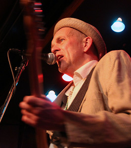 Jeff Krage - For the Northwest Herald Dag Juhlin of Woodstock performs with his band Expo '76 at Fitzgerald's in Berwyn. Berwyn 2/21/12