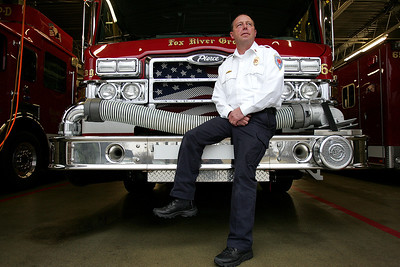 "Monica Maschak - mmaschak@shawmedia.com Fox River Grove Fire Deputy Fire Chief Jim Kreher has volunteer with the Illinois Fire Safety Alliance for 35 years. For the past two years, he has been a director of the alliance, which works in the state of Illinois to support fire prevention, fire education, Bath Buddies, Juvenile Firesetter Intervention programs and ""Camp I Am Me"" for burned children."