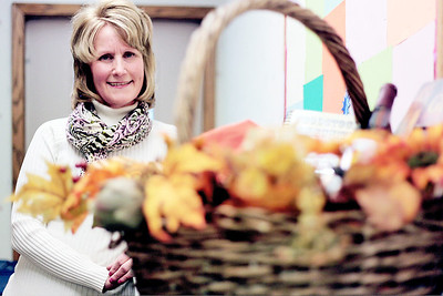 Sarah Nader - snader@shawmedia.com Peggy Grasley of Woodstock voluntees at Family Health Partnership Clinic in Woodstock.  For the past six years Grasley has helped with the annual gala/auction fundraiser. She creates the silent auction baskets and also helps organize the Care4 Breast Cancer Race.