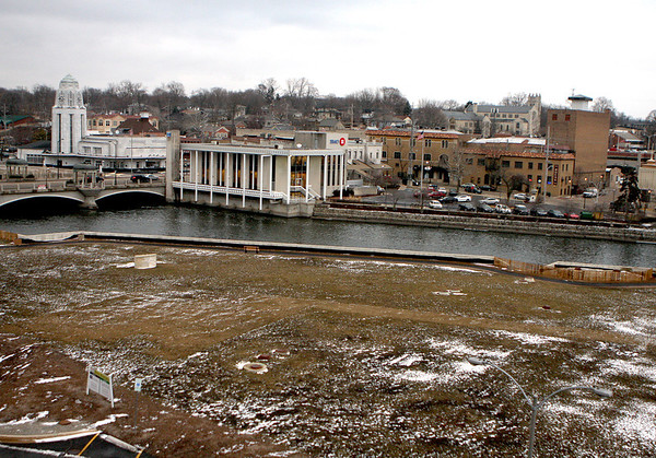 Sandy Bressner - sbressner@shawmedia.com<br /> Land adjacent to the Fox River along First Street in downtown St. Charles is available for future growth in the city.