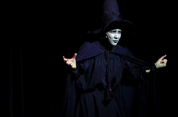 Sandy Bressner - sbressner@shawmedia.com<br /> Jessica Blakely, 14, of St. Charles rehearses a scene as the Wicked Witch for a production of The Wizard of Oz at the Batavia Fine Arts Centre. Performances run Feb. 10-12.