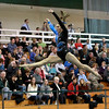 Geneva's Ashley Puff performs the floor exercise during the 2013 I.H.S.A. Sectional Gymnastics Championship at Glenbard West High School Tuesday night.