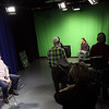 "Jeff Krage – For the Kane County Chronicle<br /> Sunday's taping of BATV's new reality show ""Project Publish"" at Batavia High School.<br /> Batavia 2/17/13"