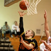 Batavia's Mike Rueffer goes up for a shot during their 4A Batavia Regional game against Plainfield East Monday night.