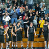 Kaneland fans give a standing ovation to their team for a great season at The Class 3A IMSA Regional Semi-finals in Aurora, IL on Wednesday, February 27, 2013 (Sean King for The Kane County Chronicle)