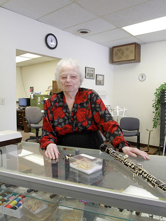Dorothy retires from Edmund Nielsen Woodwinds