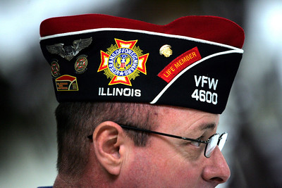 Monica Maschak - mmaschak@shawmedia.com McHenry VFW Post 4600 Commander Ron Reber spends a lot of his time volunteering with and honoring veterans. He organizes many events at the VFW for Flag Day, Memorial Day, Independence Day, Thanksgiving for the Sailors and much more.