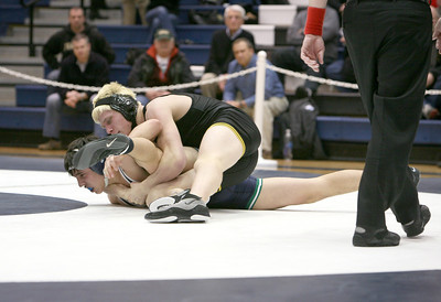 Glenbard North wrestles in team sectional