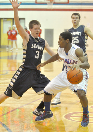 Lemont at Glenbard South boys basketball