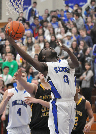 Elmwood Park at Riverside Brookfield boys basketball