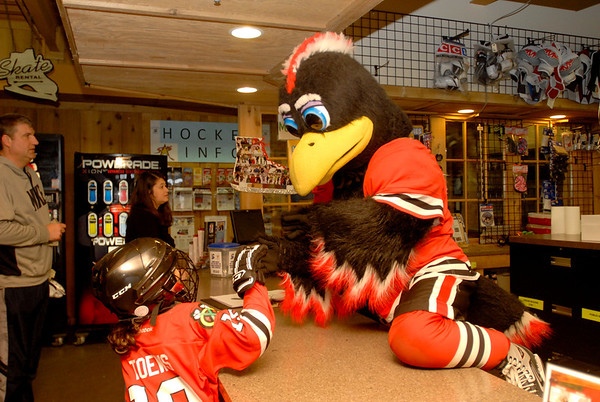 Tommy the Hawk at Rocket Ice