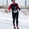 Nathon Kennedy of Bolingbrook was the first male to finish with a time of 16:50 at The Super Shuffle 5K at Geneva Middle School South in Geneva, IL on Sunday, February 02, 2014 (Sean King for Shaw Media)