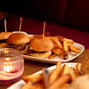Beef fliet slider trio at A' Saluté martini lounge, located at 2400 E. Main St. in the Foxboro Plaza in St. Charles.