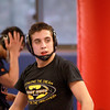 Marmion senior Johnny Jimenez, of St. Charles, during a practice at the Aurora school Wednesday. Jimenez won three state championships in his first three seasons. He's preparing for the sectional meet that would give him a chance at his fourth title.