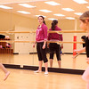 Alyssa Arroyo, 18, a senior at St. Charles North High School and resident of St. Charles, teaches a dance class at the Pottawatomie Community Center in St. Charles.