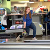 St. Charles North bowler Ashley Montgomery practices Wednesday at St. Charles Bowl.