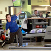 St. Charles North bowler Bobbi Jo Buhlman practices Wednesday at St. Charles Bowl.