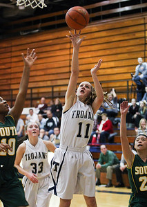 Sarah Nader- snader@shawmedia.com Cary-Grove's Candace Cunningham shoots during the third quarter of Wednesday's Class 4A Cary-Grove Regional against Crystal Lake South February 19, 2014. Cary-Grove defeated Crystal Lake South, 57-45.