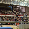 Geneva's Claire Rose Ginsberg performs on the balance beam at The Girls Gymnastics State Meet at Palatine High School in Palatine, IL on Saturday, February 22, 2014 (Sean King for Shaw Media)