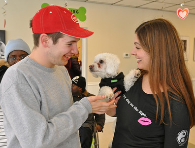 Elmhurst Valentine Puppy Party