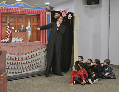 """Honest Abe"" comes to Addison Library"