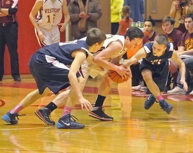 Lisle at Westmont basketball