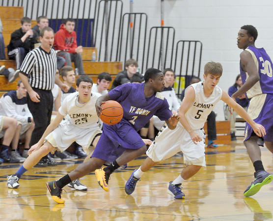 Lemont hosts Thornton Fractional North basketball