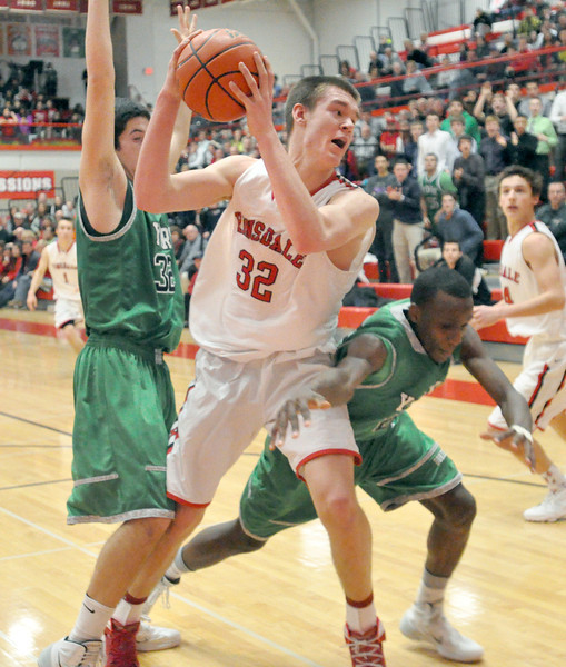 York at Hinsdale Central boys basketball