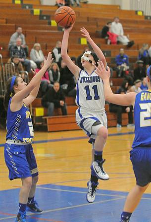 Aurora Central Catholic at Riverside Brookfield girls basketball
