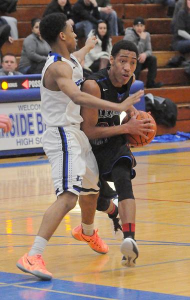 Glenbard South at Riverside Brookfield boys basketball
