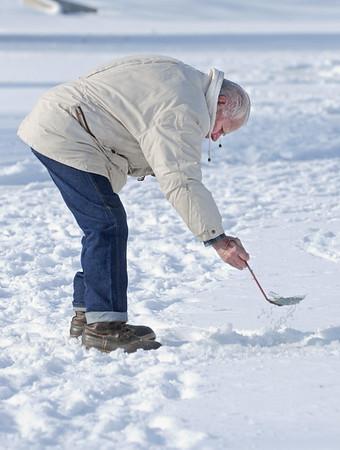 Villa Park ice fishing