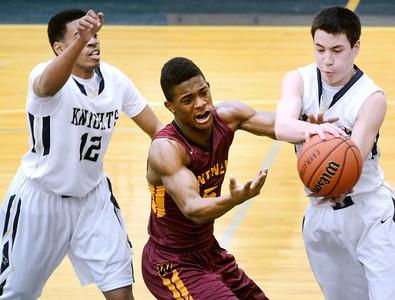 Westmont and IC Catholic boys basketball