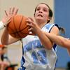 Rosary girls basketball vs Plano @ IMSA regional 1