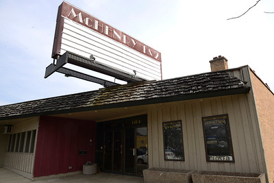 The theater in downtown McHenry at 1204 N. Green St. and Walsh Park has been vacant since 2016. A recent request has been made for a permit to expand the theater and to an a restaurant serving alcohol and outdoor seating has been made.