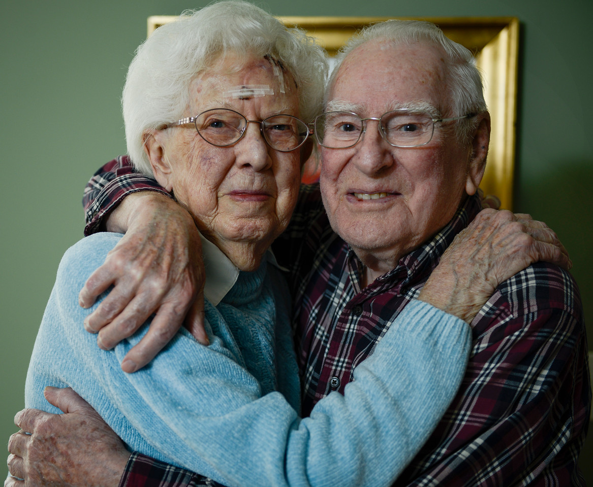 Grace and Marion Messman, of McHenry, have been married for 70 years. They are parents to five children three of which live in northern Illinois.