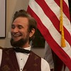 Abraham Lincoln, portrayed by Michael Krebs, at the Norris Cultural Arts Center on Feb. 5 in St. Charles.