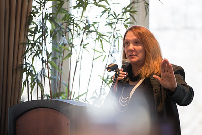 Whitney Rupp for Shaw MediaState Senator Pam Althoff addresses attendees at the State of the Community luncheon in Crystal Lake Friday, Feb. 2.