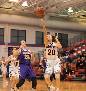 Whitney Rupp for Shaw Media Ava Interrante of McHenry prepares to shoot the ball during the IHSA Class 4A Sectional Tuesday, Feb. 20.
