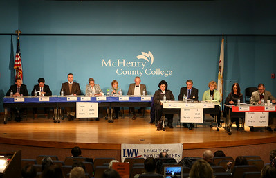 McHenry County College Board of Trustees candiates participate in public forum